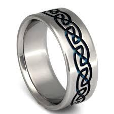 titanium wedding ring titanium celtic promise ring ck10 titanium rings studio