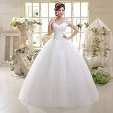 factory direct supply new 2017 korean wedding dress bride shoulder