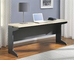 Long Computer Desk by Ameriwood Furniture Pursuit Credenza Gray