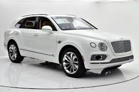 white bentley back 2017 bentley bentayga w12