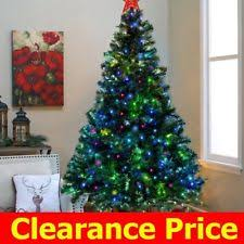 christmas tree clearance prelit led christmas tree ebay