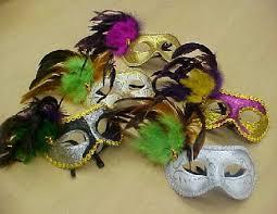 bulk mardi gras assorted colored mardi gras masks mardi gras