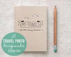 travel diary images Travel photo keepsake ideas jpg