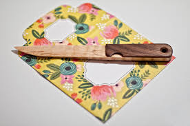 coupe papier design wooden letter opener on behance