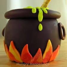 chocolate caramel apple cauldron hungry happenings