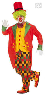 clown costumes clown costume with frack l carnival costumes horror shop