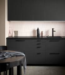 ikea u0027s new black kitchen cabinets are literally garbage plastic