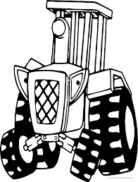 bob the builder travis tractor coloring page wecoloringpage