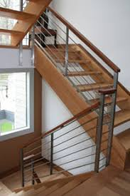 metal landing banister and railing eb stainless rail interior railings railings product gallery
