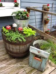 celebrations whiskey barrel planter barrel planter and whiskey