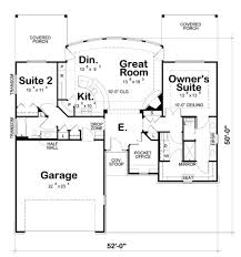 garage office plans craftsman style house plan 2 beds 2 00 baths 1436 sq ft plan 20