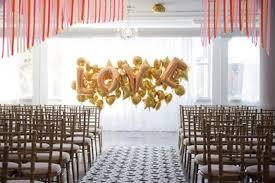 wedding backdrop balloons of hot hair balloon wedding inspiration fantastical