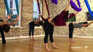 aerial hammock conditioning full workout aerial asana yoga