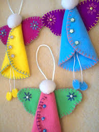 Homemade Christmas Decorations Angels by Best 25 Felt Angel Ideas On Pinterest Boys And Girls Christmas