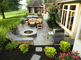 landscaping ideas around patio for small backyards designs ideas