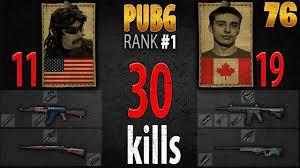1 pubg player pubg rank 1 drdisrespect shroud 30 kills duo 1st person 76
