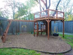 Simple Backyard Tree Houses by Top 25 Best Outdoor Forts Ideas On Pinterest Kids House Garden