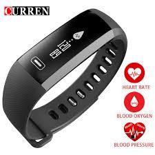 blood pressure wrist bracelet images Curren r5 pro smart wrist band heart rate blood pressure oxygen jpg