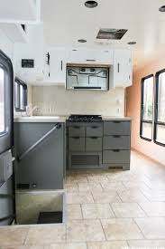Photos Of Painted Kitchen Cabinets The Progress Of Our Rv Kitchen Cabinets Mountain Modern Life