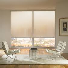 motorized shades help set the right mood in your condo throughout