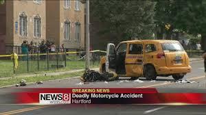 motorcyclist killed in hartford crash youtube