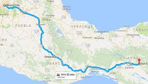 Oaxaca Mexico Map Riding In Mexico Youtube Video Mattventures