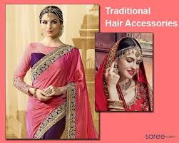 traditional hair accessories 03 traditional hair accessories saree