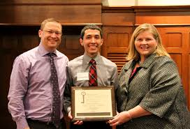 aspire award recipient created change in his first year news