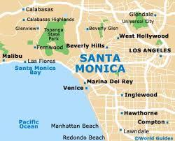 map of santa santa maps and orientation santa california ca usa