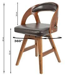 Design Drehstuhl Esszimmer Ts Ideen 1 X Drehstuhl Retro Design Chill Lounge Bar Sessel Stuhl