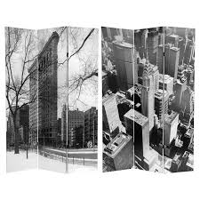 New York Room Divider New York City Sided Room Divider Furniture Target