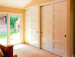 Maple Doors Interior Closet Shutter Style Closet Doors Bypass Closet Doors Bypass