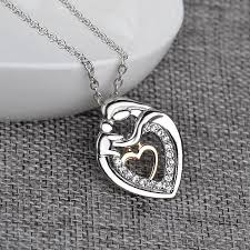 necklace for s day 2016 new s day jewelry alloy with diamond heart