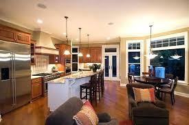 open kitchen living room floor plans open concept kitchen living room open concept kitchen living room