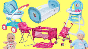 baby dolls nursery center frozen pram dimple playpen baby annabell