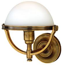 Nautical Wall Sconce Hudson Valley 3301 Stratford Nautical Wall Sconce Hud 3301