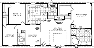 floor plans 3 bedroom 2 bath large manufactured homes large home floor plans