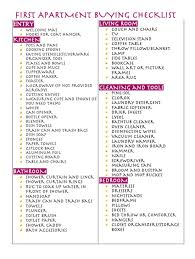 things to buy for first home checklist 16 best apartment images on pinterest my house home ideas and 1st