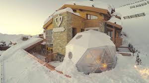 the igloo pod les explorateurs new star michelin 2017 refuge