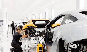 mclaren factory interior mclaren automotive production