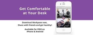 Get Comfortable Workpose App Get Comfortable At Your Desk
