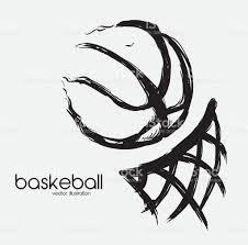 basketball design vector illustration eps 10 graphic stock vector