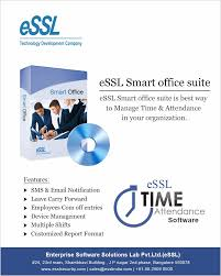 essl time and attendance software essl security