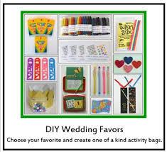 wedding favors for kids kid friendly weddings