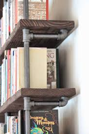 best 25 pipe bookshelf ideas on pinterest tv stand with