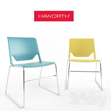 Haworth Chair 3d Models Office Furniture Haworth Very Chair