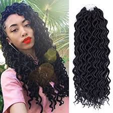 mambo hair twist amazon com 6packs 12inch curly faux locs soft hair twist braids