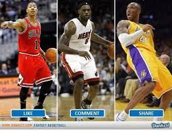 Fantasy Basketball Memes - like www dunkest com fantasy basketball hea comment share dunkest