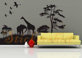 safari animal wall decal stickers aus17 96 00 wall stickers safari animal wall decal stickers safari animal wall decal stickers