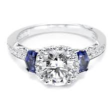 sapphire accent engagement rings engagement rings with sapphire accents baiseautun